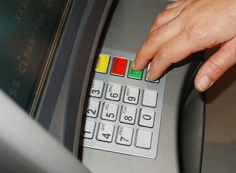 bankomaty w Anglii